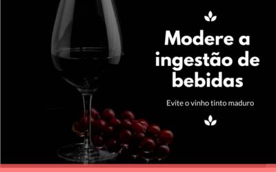 Modere ingestão de bebidas